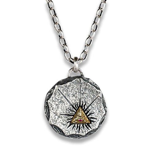 collier triangle des illuminati