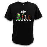 t-shirt the aliens