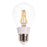 LED FILAMENT BULB, 5W, 120V, BASE E27, WARM WHITE, 2700K, ULED