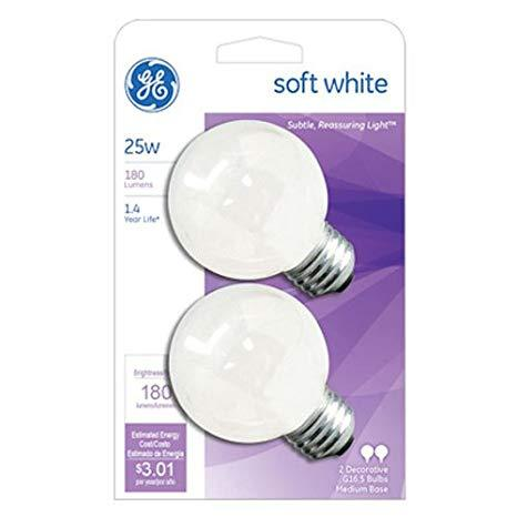 LAMPARA MOD SOFT WHITE, G25 LED GLOBE , 25W, 120V, BASE E26 G25, WW