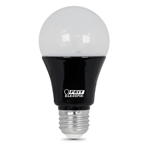 LED BULB, A19, 9W, LED BLACKLIGHT BLUE