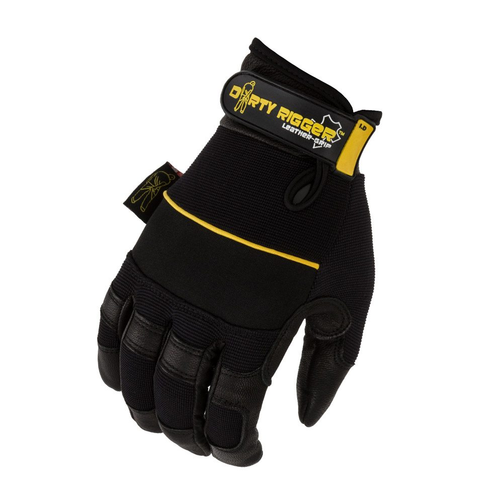 GUANTES LEATHER GRIP GLOVES MEDIANO