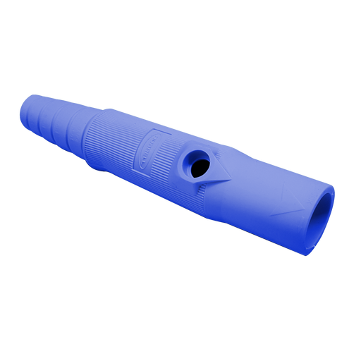 CONECTOR CAMLOCK 150A EN LINEA SINGLE POLE MALE BLUE