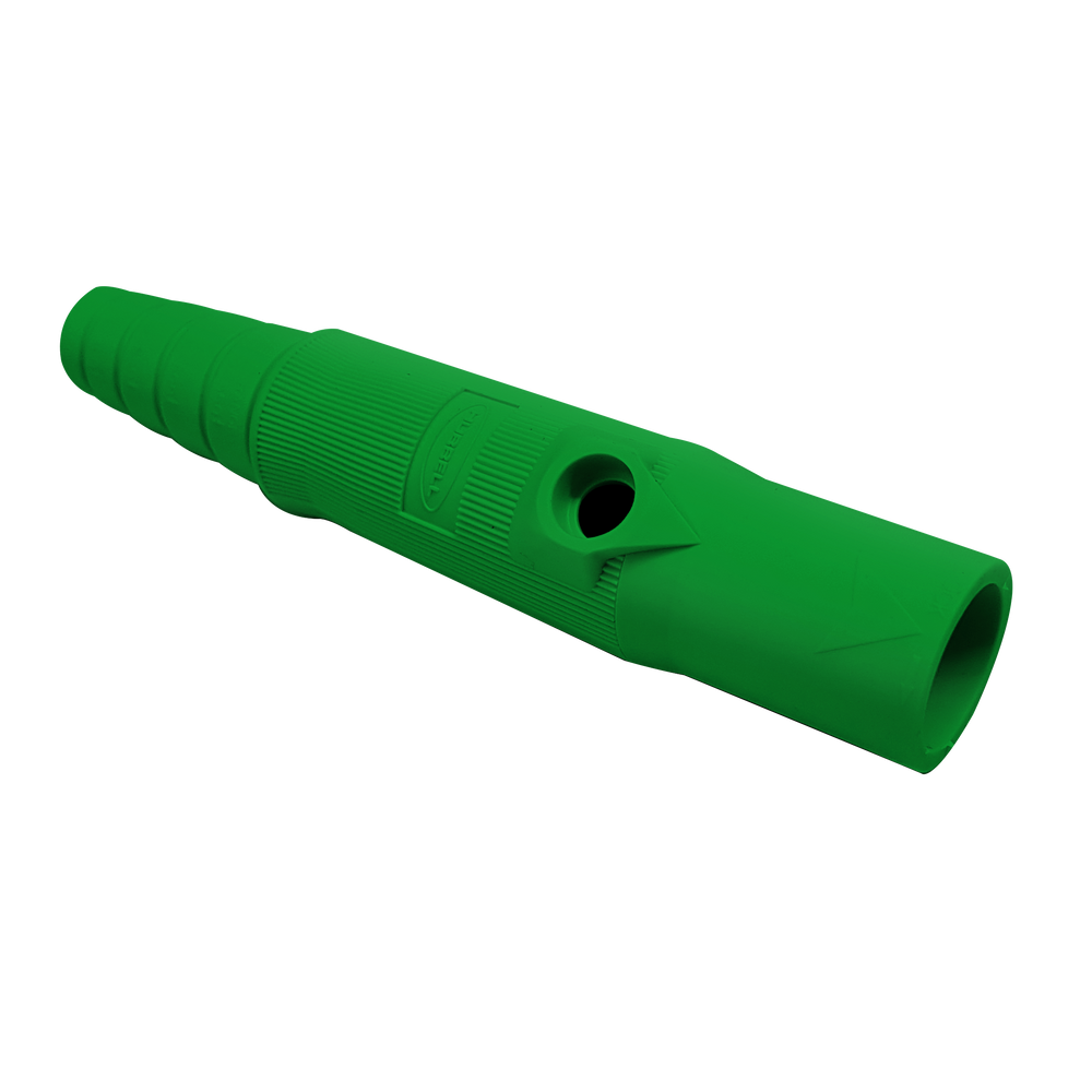 conector camlock 150a en linea single pole male green
