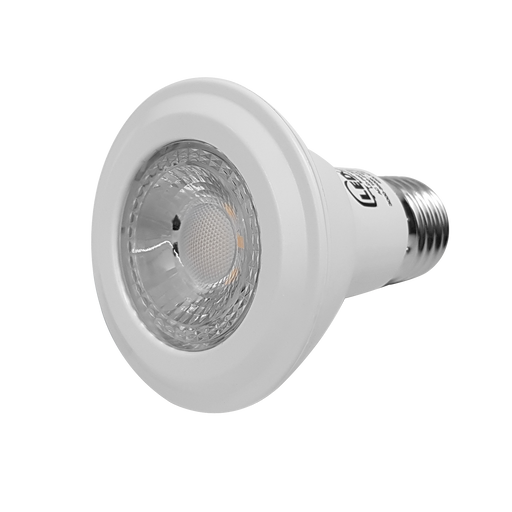 LED PAR20, 8W, 85-265V, BASE E27, WARM WHITE, 40°, LEDPAR20-E