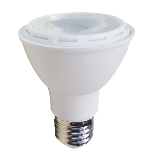 LED PAR20, 8W, 85-265V, BASE E27, COOL WHITE, 40°, LEDPAR20-E