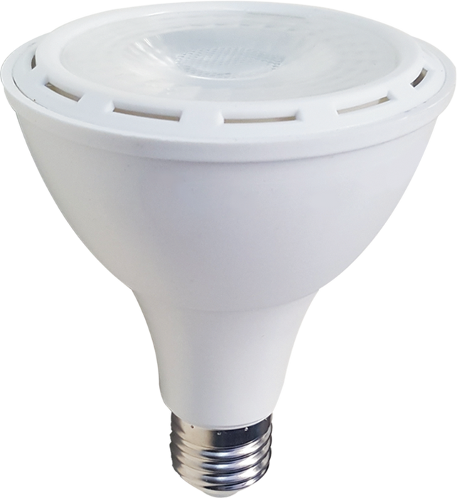 LED PAR30, 12W, 85-265V, BASE E27, COOL WHITE, 40°, LEDPAR30-E