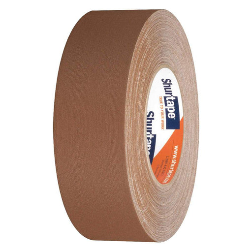 "CINTA GAFFER, 2"" X 50 MTS DE LARGO, CAFE"