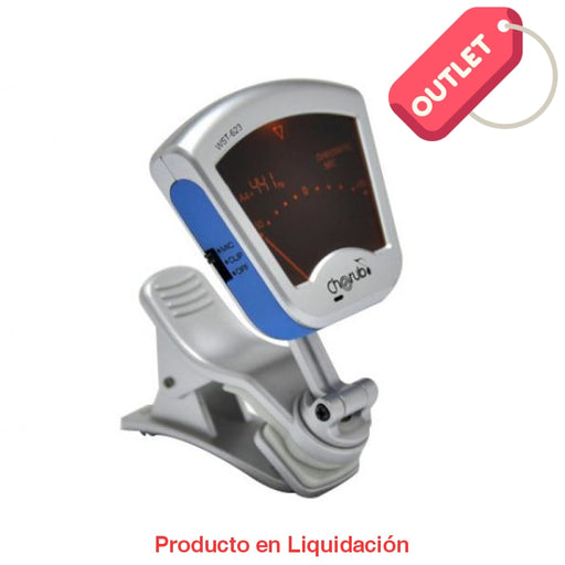 Afinador Digital Plateado Outlet
