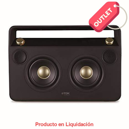 Bocina 2 Boombox Usb Bluetooth Fm Outlet