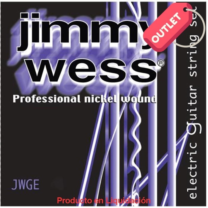 Cuerda Guitarra Elec Jimmywess Pro 2A Niq 13 Outlet