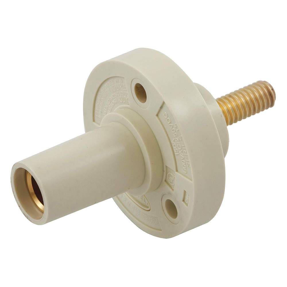 CONECTOR CAMLOCK 150A PANEL MOUNT CHASIS TORNILLO FEMALE WHITE