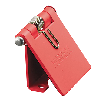 CONECTOR CAMLOCK 300-400A COVER SNAP-BACK, RED