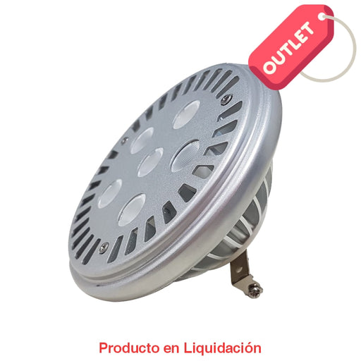 led ar111, 9w, 12v, base g53, cool white, 14°, ledar111 - descontinuado - mto