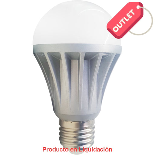 Led Bulb 9W 85-265V Base E27 Warm White Ledbulb-9 Outlet