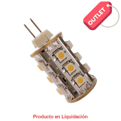 Led Cacahuate 2W 12V Base G4 Warm White Ledg4-2 Outlet