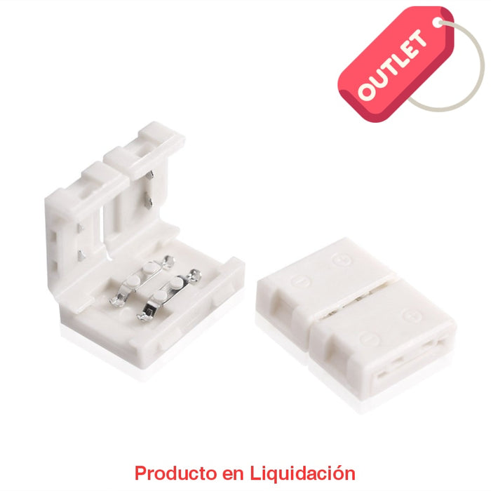 Led Conector Para Union De Tira White Con-W Outlet