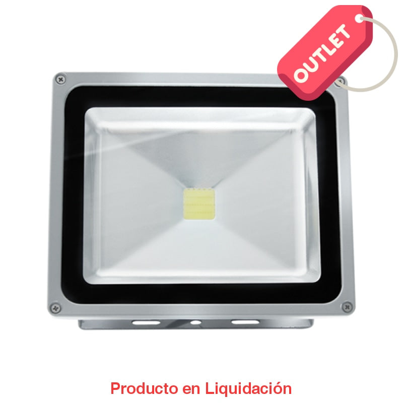 led floodlight, 50w, 85-265v, cool white, ledfl50 - descontinuado – mto