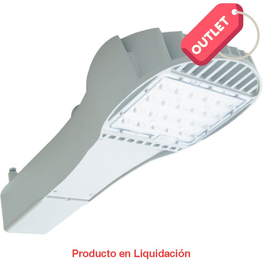 led iron, ins-20-50, 52w, nw 5000k, ies type iim, 120-277vac, 0.7a, blanco, fc sp nd, mto