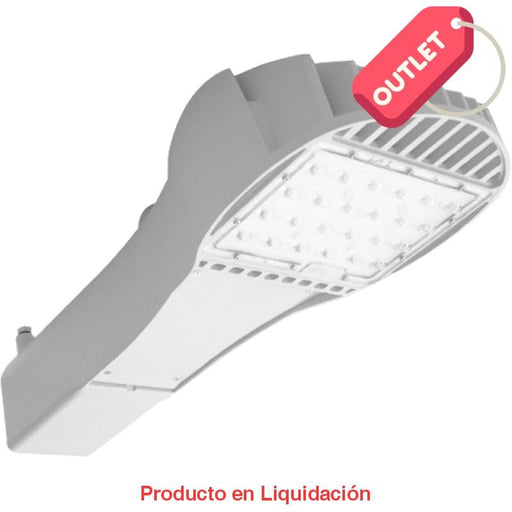 led iron, ins-24-80, 76w, nw 5000k, ies type iim, 120-277vac, 1.0a, blanco, sp nd, mto