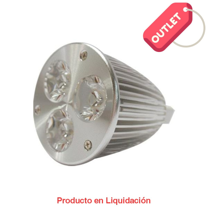 led mr16, 6w, 85-265v, base gu10, warm white, 30°, led706gu10 - descontinuado – mto