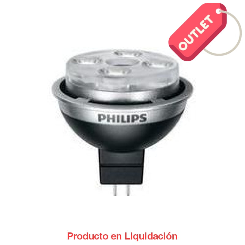 led mr16, 7w, 12v, base gu5.3, warm white, 2700k, mto