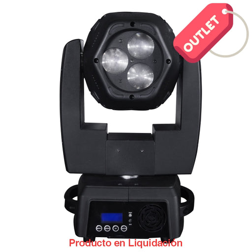 Luminaria Led Beam Turret 120W 100-240V 6X8W Rgb Outlet