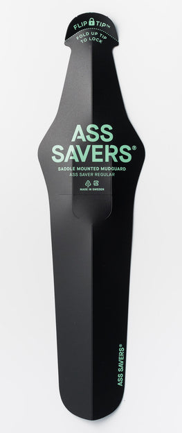 ass saver regular black saddle mudguard