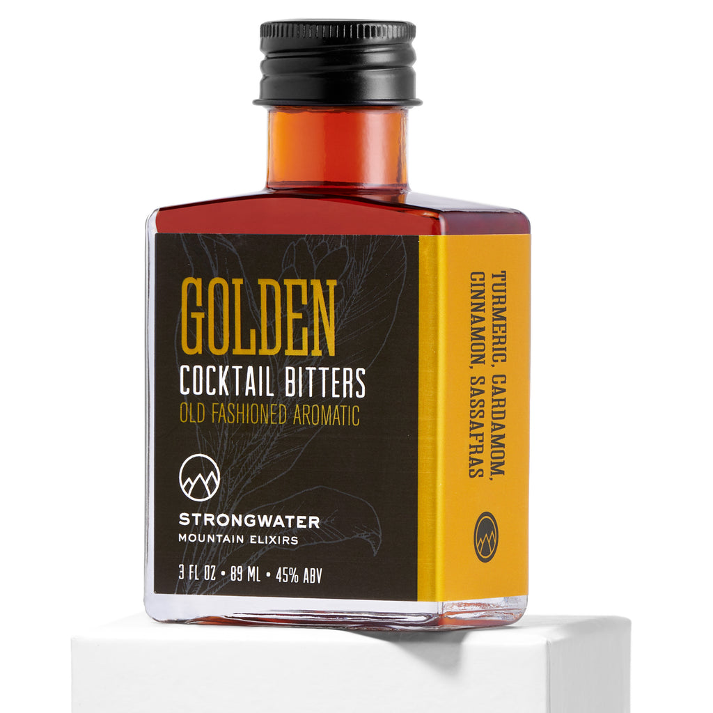 Strongwater | GOLDEN Old Fashioned Aromatic Cocktail Bitters