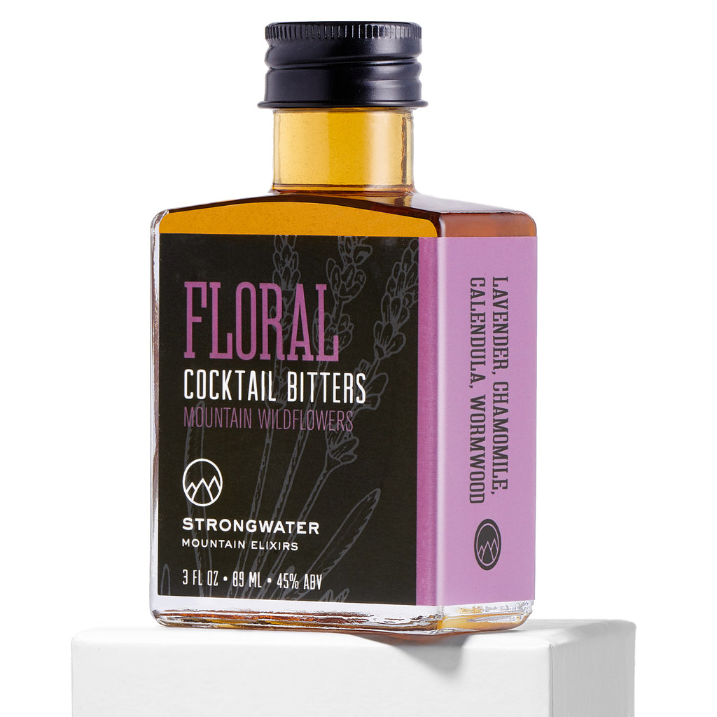Strongwater | FLORAL Mountain Wildflowers Cocktail Bitters