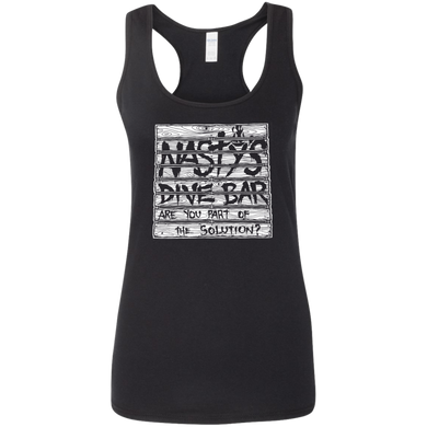 Natsy's Dive Bar - Are You With Us - Ladies Tank