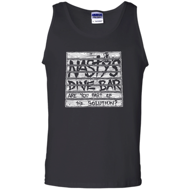 Nasty's Dive Bar - Are You With Us - Men's Tank