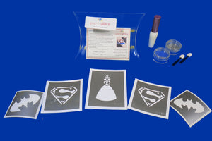 MINI KIT DE PAR-T-GLITTER: SUPERHERO