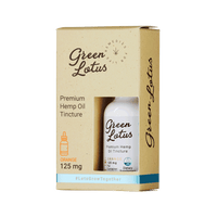 GREEN LOTUS HEMP TINCTURE | ORANGE 125MG