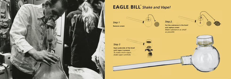 Photo of Eagle Bill, inventor of the Shake and Vape.