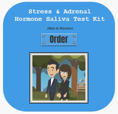 Stress and Adrenal Hormone Saliva Test Kit