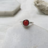 Maria Ring I Red Agate