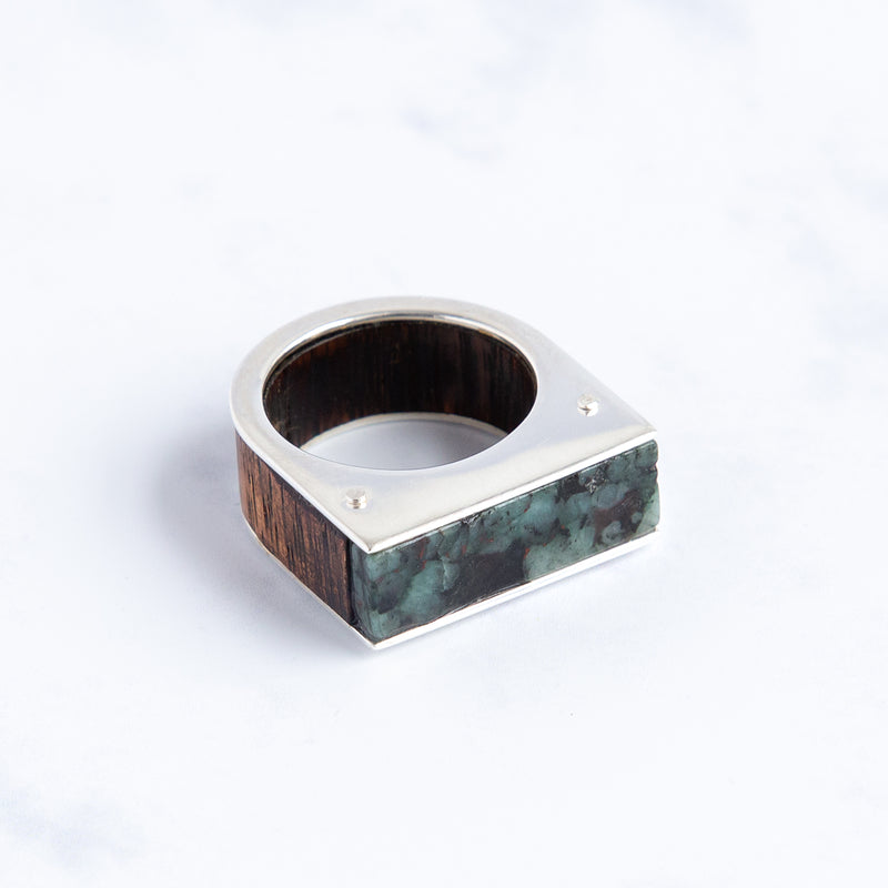 Forest Ring | Emerald