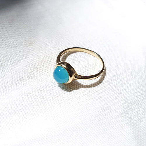 Maria Ring I Blue Agate