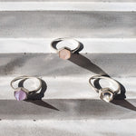 Giulia ring I Rose Quartz
