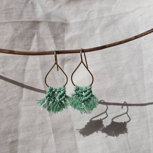 Natalia Macrame Earrings