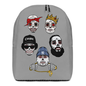 Unapologetic: Johnny Tequila Sugar Skull - Minimalist Backpack