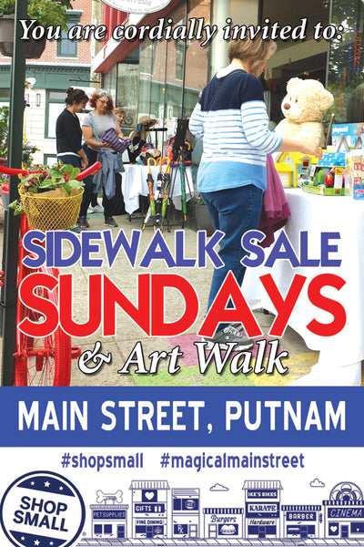 Sidewalk Sales Coming Soon