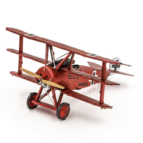 Fokker Dr.I Triplane - Metal Earth Steel Model Kit
