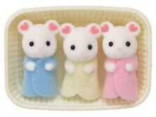 Marsmallow Mouse Tripplets