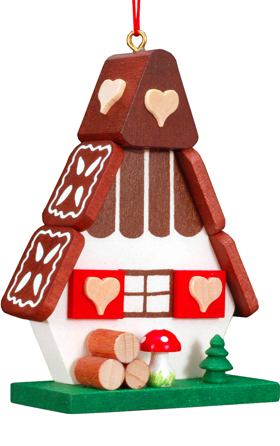 Christian Ulbricht Ornament - Gingerbread House