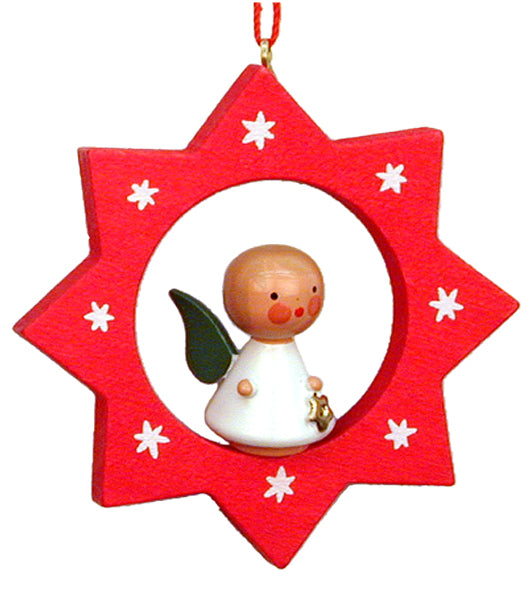 Christian Ulbricht Ornament - Star with Angel 1