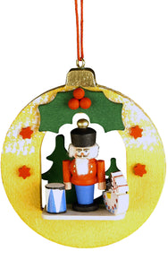 Christian Ulbricht Ornament - Nutcracker in Xmas Ball