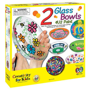 Glass Bowls 4 U 2 Paint