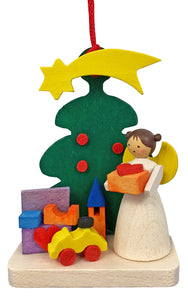Graupner Ornament - Angel with Toys/Tree